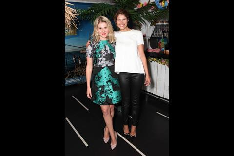 Hannah Arterton and Gemma Arterton